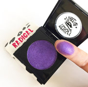 Purple Baked Eyeshadow