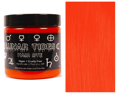 Lunar Tides Cruelty Free Hair Dye - Siam Orange