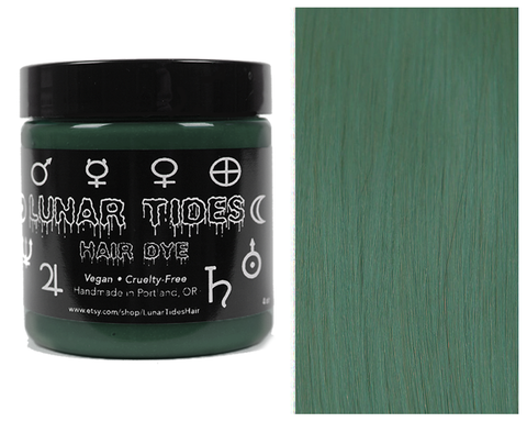 Lunar Tides Cruelty Free Hair Dye - Smokey Green