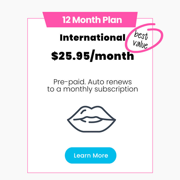 12 MONTH PREPAY (International) 🌎
