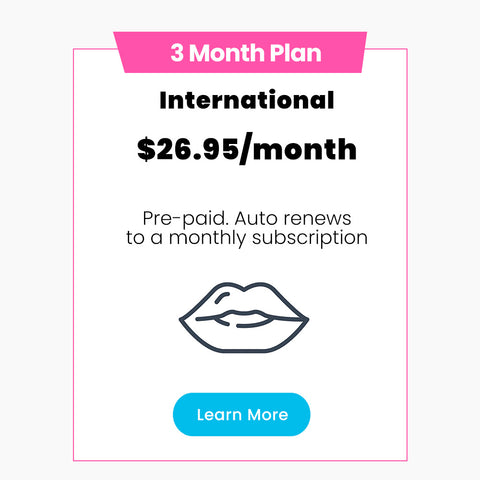 3 MONTH PREPAY (International) 🌎