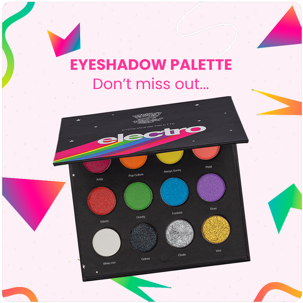 The Electro Eyeshadow Palette