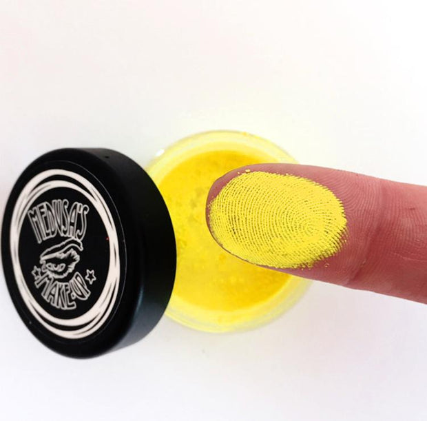 UV Neon Pigment Makeup - Fluorescent Yellow