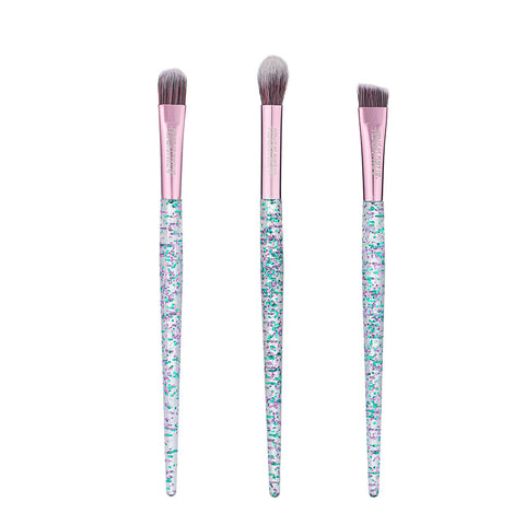 Vegan Glitter 3 Brush Set