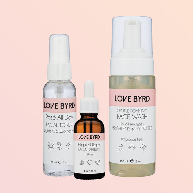 Skincare Box Trio Set - Hippie Dippy