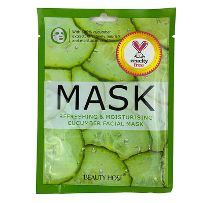Refreshing & Moisturizing Cucumber Facial Mask