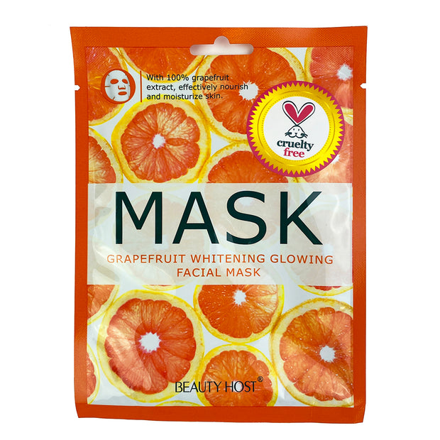 Grapefruit Whitening Glowing Facial Mask