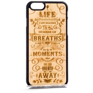 """The Meaning"" Luxury Handmade Wooden iPhone & Samsung Case"
