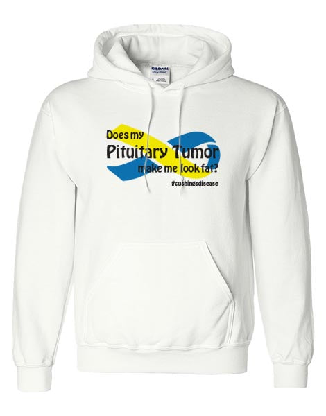 Cushings Disease Unisex Hoodie White