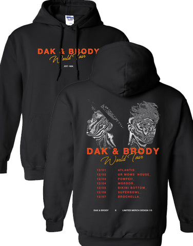 Dak and Brody World Tour Limited Edition Hoodie