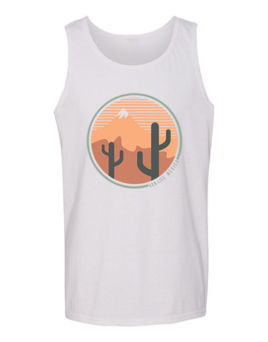 Mexico VL Unisex Tank Top WHITE