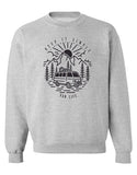 Keep It Simple Crewneck Sweater HEATHER GREY