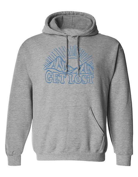 VL Sunrise Unisex Hoodie HEATHER GREY