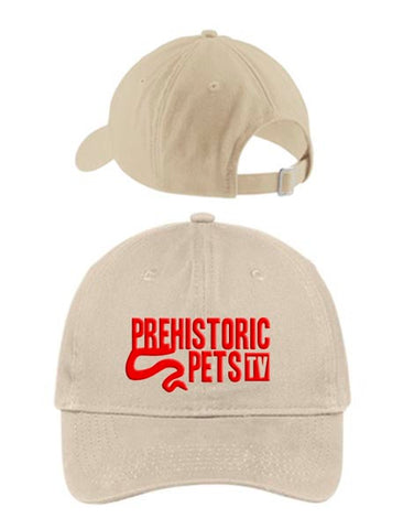 Prehistoric Pets TV Dad Hat STONE