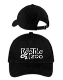 Reptile Zoo Dad Hat BLACK
