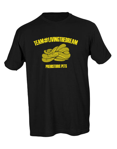 Team Living The Dream Unisex Tee BLACK