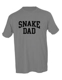 Snake Dad Unisex Tee HEATHER GREY