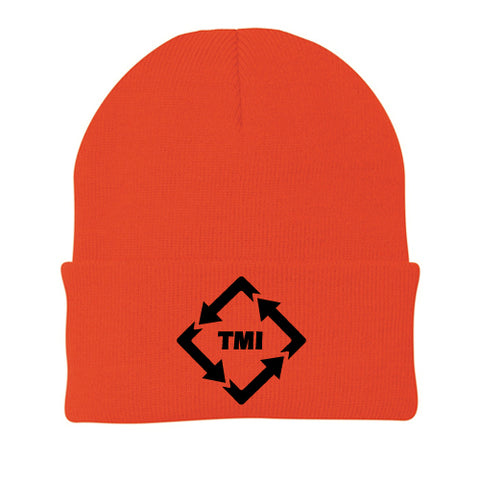 TMI PORT & CO KNIT CAP ATHLETIC ORANGE