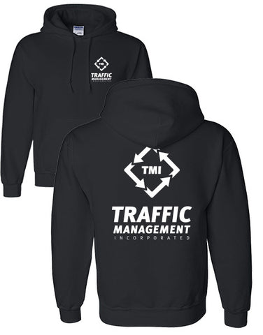 TMI HOODED SWEATSHIRT BLACK