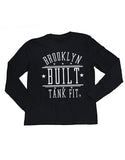 BROOKLYN BUILT LONG SLEEVE TEE	-BLACK