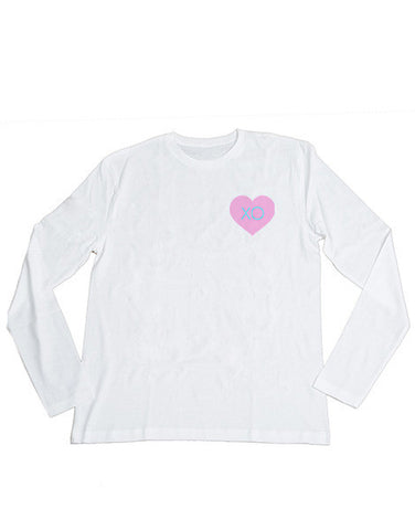 XO Heart Long Sleeve Tee
