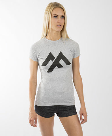 MADEFIT OFFICIAL WOMEN'S TEE - HEATHER GREY