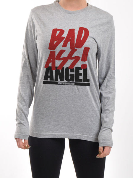UNISEX BAD ASS ANGEL LONG SLEEVE