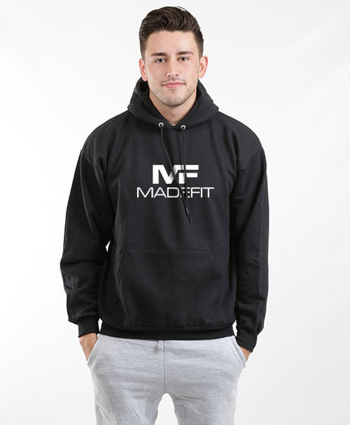 MADEFIT MEN'S ELITE HOODIE-BLACK