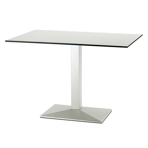 Braden Single Pedestal Rectangular Table Base