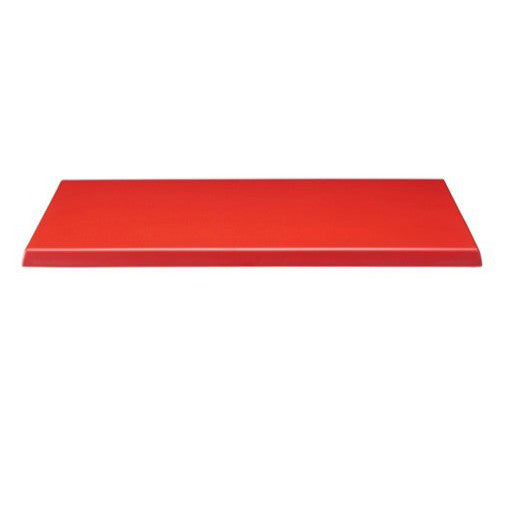 Dark Red Werzalit Table Top