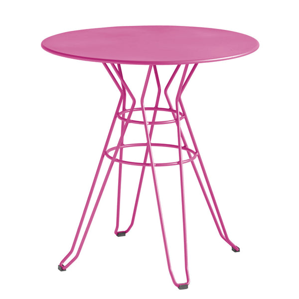 Pink Round Table.Otho Small Round Dining Table