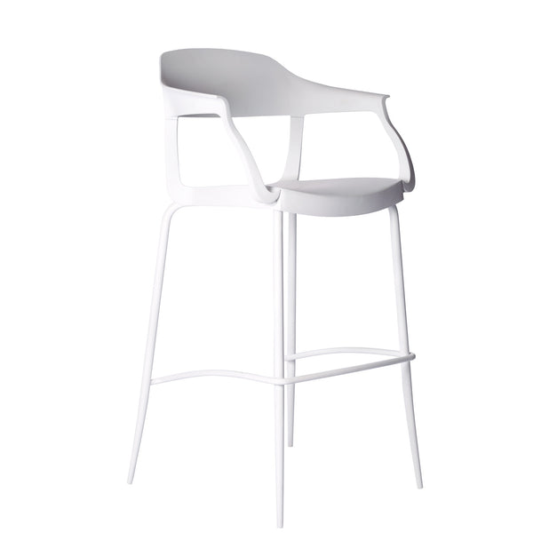 Wesley High Stool with arms