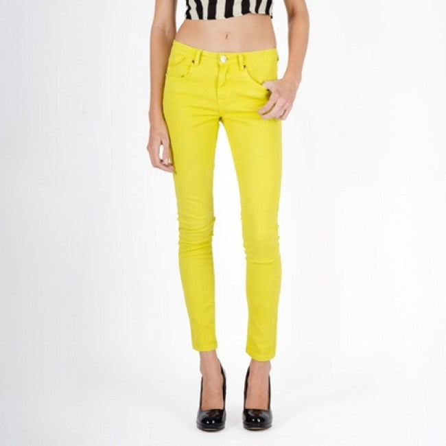 Chaconia dolls women yellow jeans