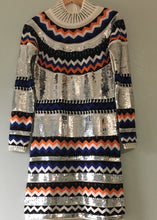 Chaconia Dolls sequence sweater dress