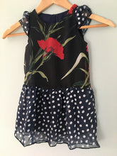 Kids Floral and Polka-Dots Dress/ lightweight dress