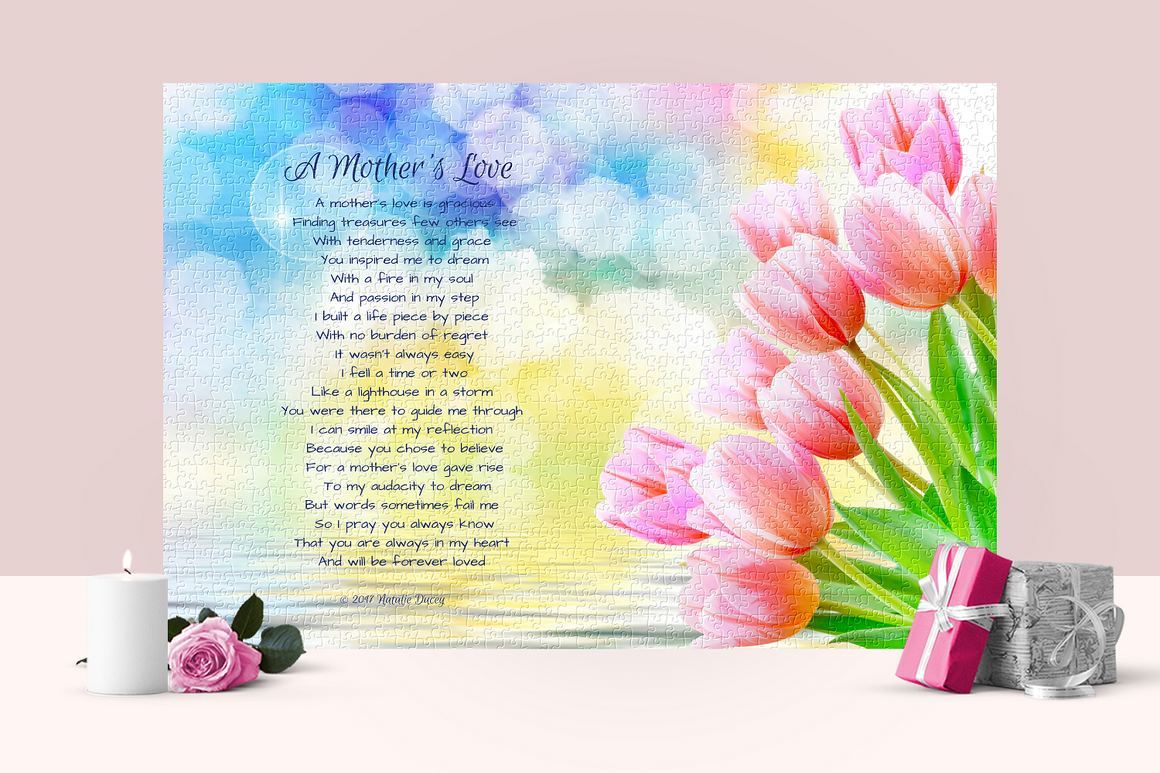 A Mother's Love - a gift from the heart. Love. Poetry. Gratitude. Puzzle