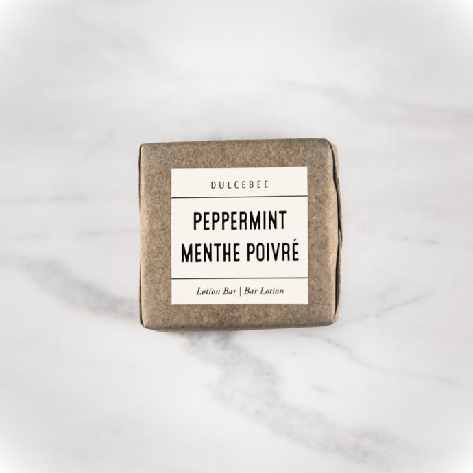 Dulcebee  here's nothing more refreshing than peppermint. This lotion bar smells like mint chocolate