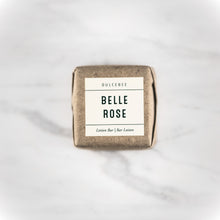 Dulcebee  This lotion bar smells like a rose bouquet. The shea butter and coconut oil will hydrate your skin