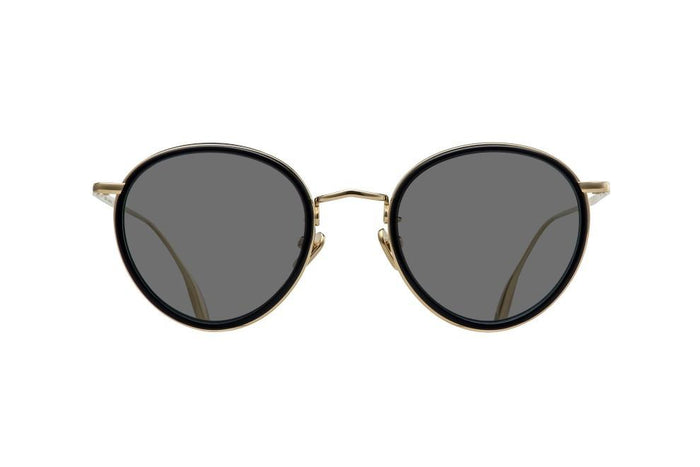 CONSTELLATION - BLACK PURE GOLD ZEISS GREY TINT LENSES