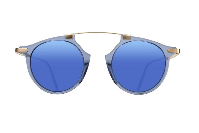 LAST TEMPTATION  - NOIR BLUE DALLOZ FLAT BLUE MIRROR LENSES
