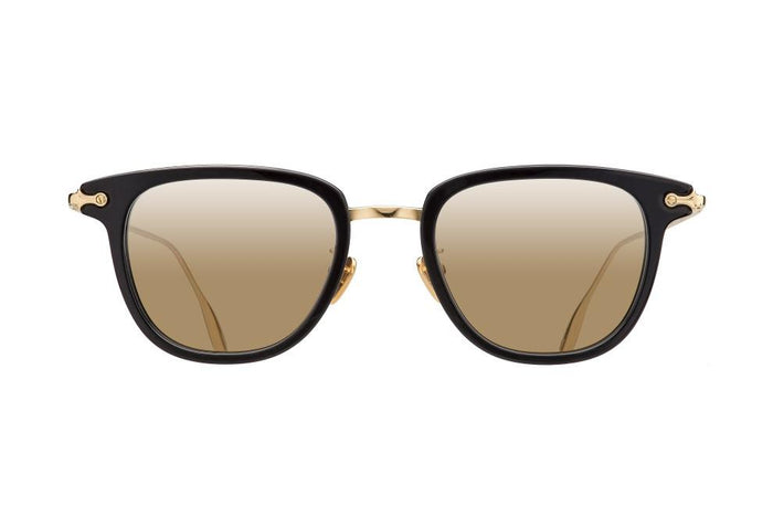 TORSO - BLACK PURE GOLD DALLOZ FLAT GOLD MIRROR LENSES