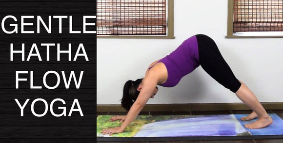 Gentle Hatha Flow Yoga for Beginners -  45 Minutes