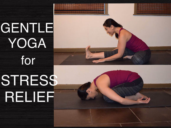 Gentle Yoga Flow for Stress Relief and Deep Relaxation - 30 Minutes