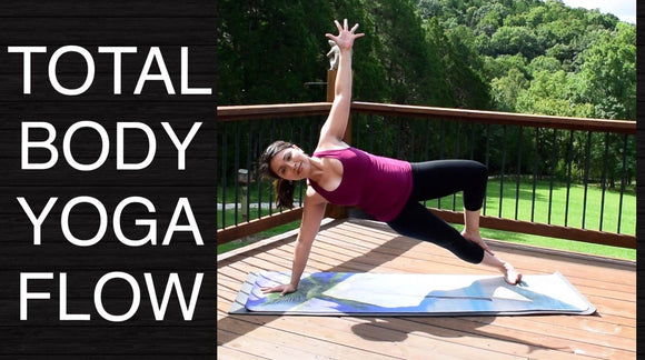 Total Body Vinyasa Flow Yoga - Intermediate (45 Minutes)