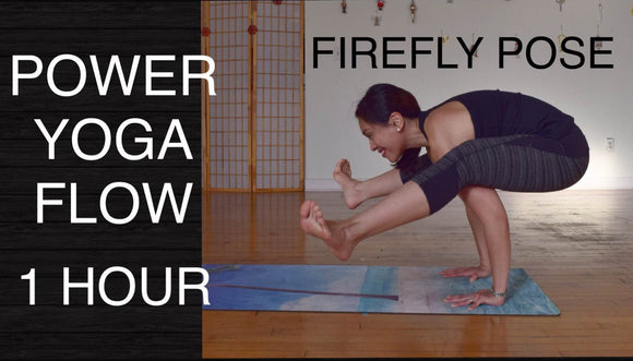 Strong Power Vinyasa Flow Yoga for Intermediate and Advanced - 1 Hour