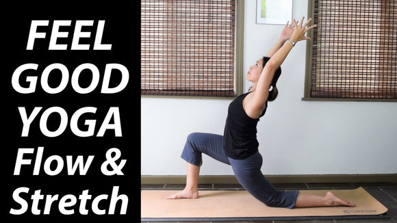 30-Minute Feel Good Yoga: Flow & Stretch