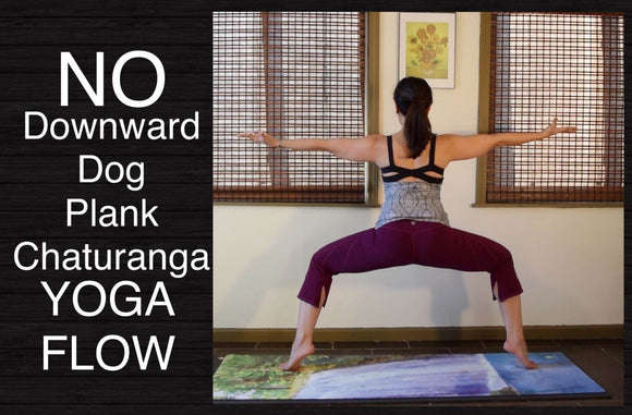 Wrist-Free Hands-Free Yoga Flow for Strong Legs and Feet - 40 Minutes