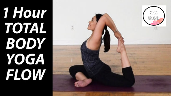 Total Body Vinyasa Flow Yoga - 60 Minutes Intermediate Class