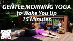 15 Minute Gentle Morning Yoga Stretch & Flow (for Waking Up)