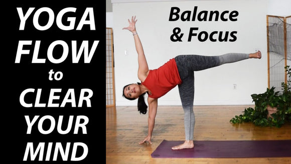 15-Minute Yoga Flow for Balance & Focus | Clear Your Mind